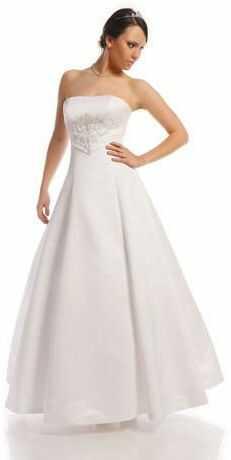 FSS527 Suknie Ślubne Suknia BIAŁY