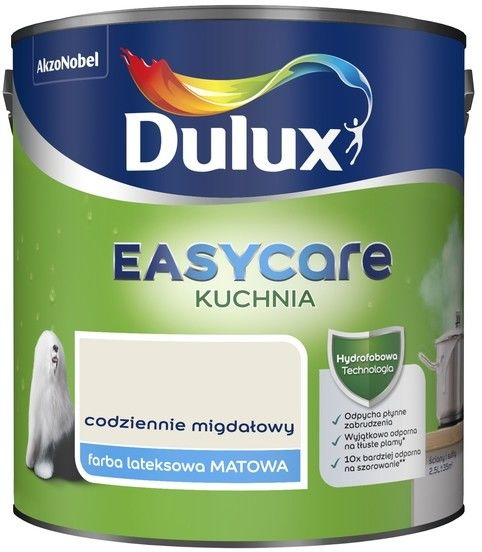 Farba Dulux EasyCare Kuchnia codziennie migdałowy 2,5 l