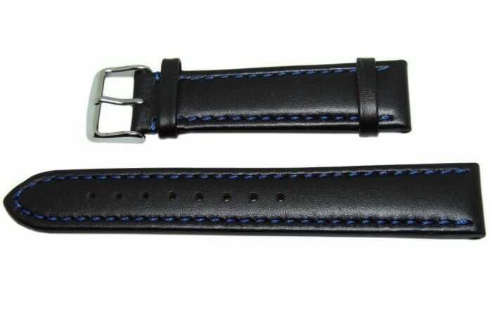 Pasek Condor 22mm czarny 338R.05.22.W