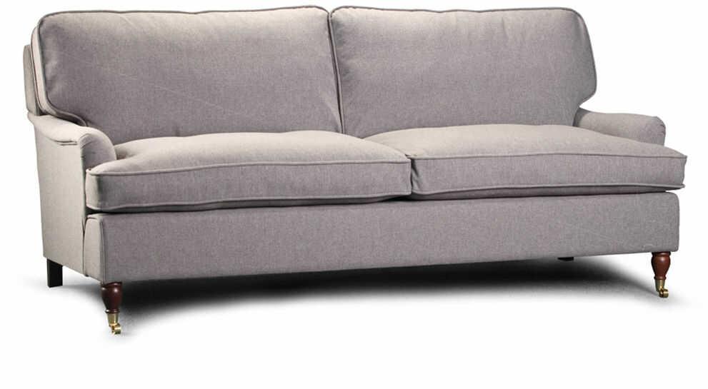 Sofa EsteliaStyle Sonata 2os., skóra, tkanina