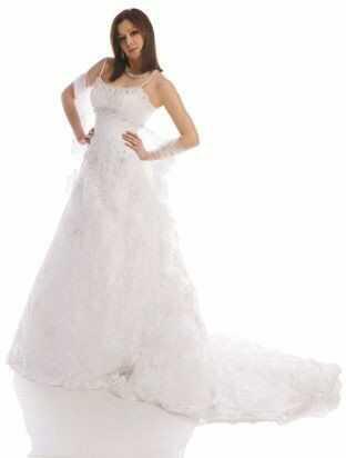 FSS531 Suknie Ślubne Suknia BIAŁY