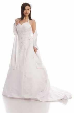 FSS533 Suknie Ślubne Suknia BIAŁY