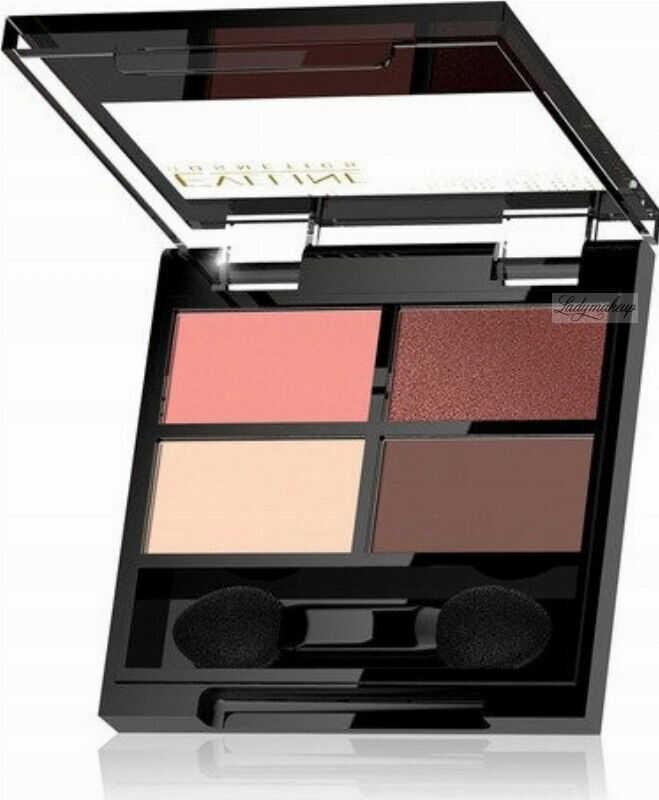 Eveline Cosmetics - QUATTRO - Professional Eyeshadow Palette - Paleta 4 cieni do oczu - 3,2 g - 06