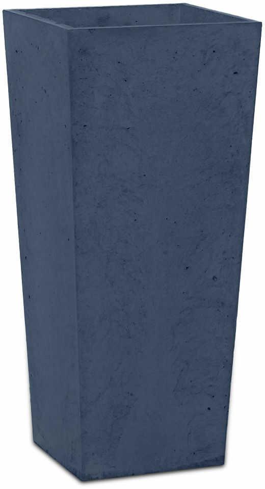 Donica betonowa CONE S 19x19x40 grafitowy