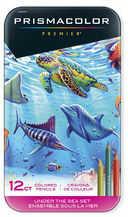 Prismacolor Premier zestaw 12 kredek Under the Sea