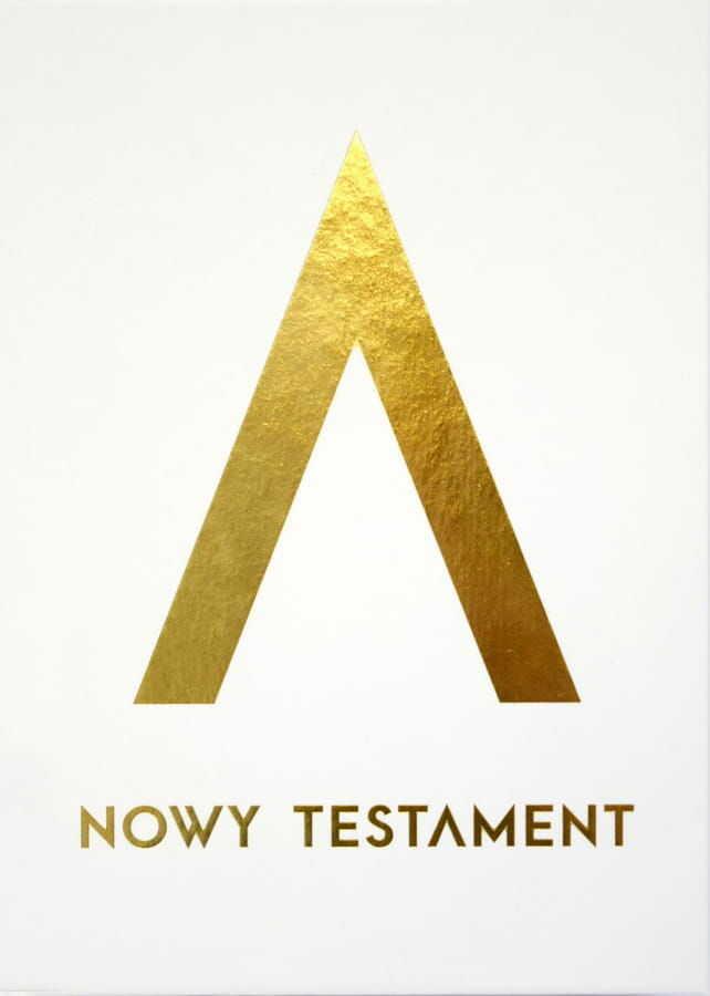Pismo Święte Nowy Testament (wersja złota)