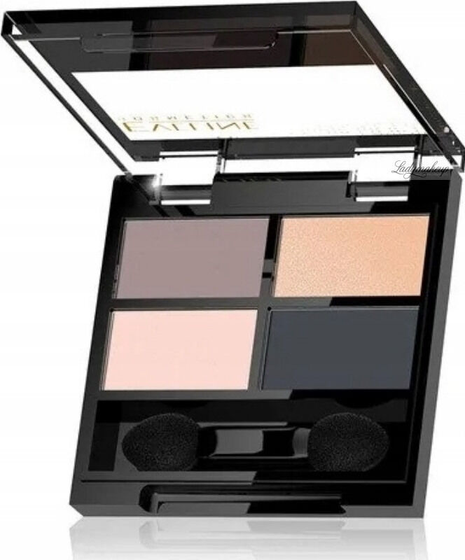 Eveline Cosmetics - QUATTRO - Professional Eyeshadow Palette - Paleta 4 cieni do oczu - 3,2 g - 02
