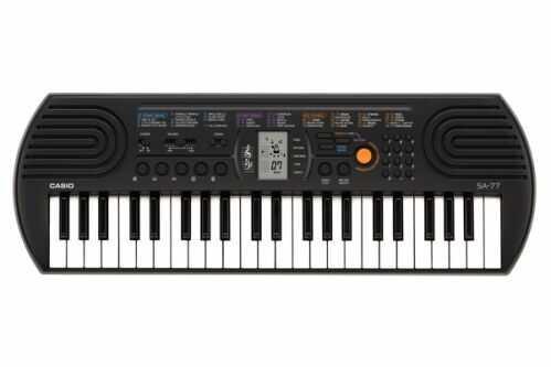 CASIO SA 77 keyboard