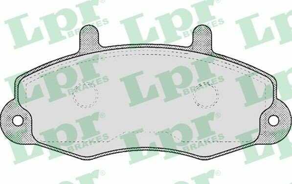 klocki hamulcowe LPR - 14'' przód
