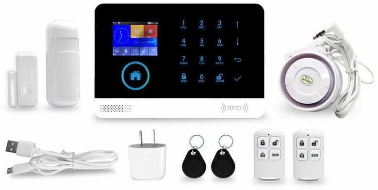 Alarm bezprzewodowy SATLINK GSM/WIFI/GPRS SL-103