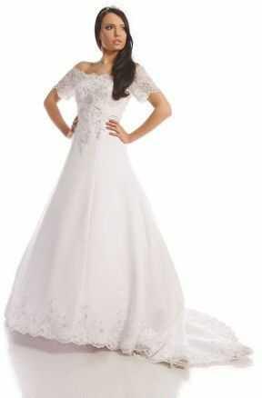 FSS536 Suknie Ślubne Suknia BIAŁY