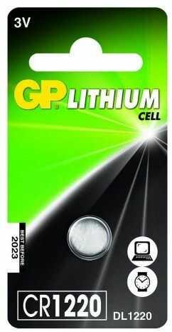 bateria litowa mini GP CR1220