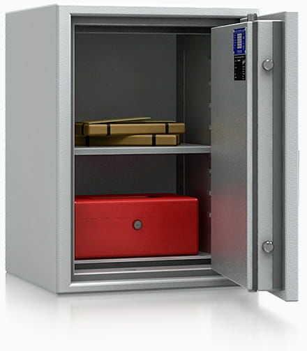 Sejf elektroniczny WUPPERTAL 44509 Ognioodporny LFS 60P Antywłamaniowy kl. I