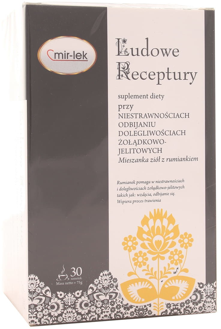 Ludowe Receptury przy refluksie - Mir - 30 saszetek