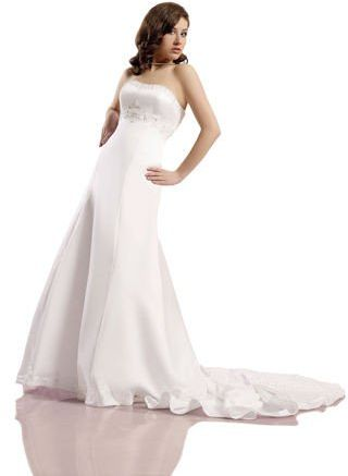 FSS538 Suknie Ślubne Suknia BIAŁY