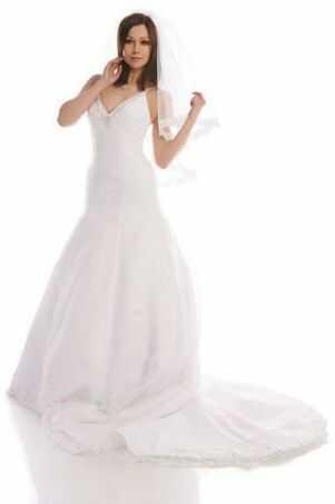 FSS539 Suknie Ślubne Suknia BIAŁY