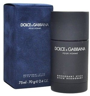 Dolce & Gabbana Pour Homme Pour Homme 75 ml dezodorant w sztyfcie dla mężczyzn dezodorant w sztyfcie + do każdego zamówienia upominek.