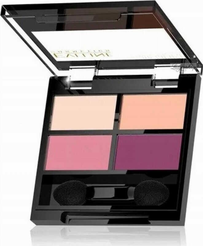 Eveline Cosmetics - QUATTRO - Professional Eyeshadow Palette - Paleta 4 cieni do oczu - 3,2 g - 03