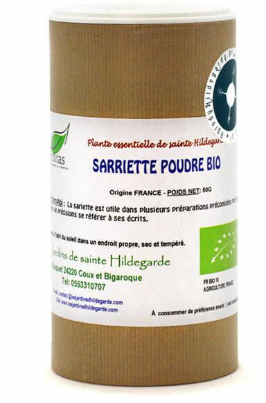 Przyprawy i zioła - Cząber liść w proszku 50g Bio*, - 40076P