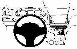 ProClip do Peugeot 2008 14-19
