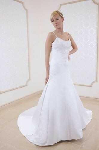 FSS540 Suknie Ślubne Suknia BIAŁY