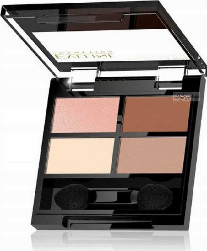 Eveline Cosmetics - QUATTRO - Professional Eyeshadow Palette - Paleta 4 cieni do oczu - 3,2 g - 05