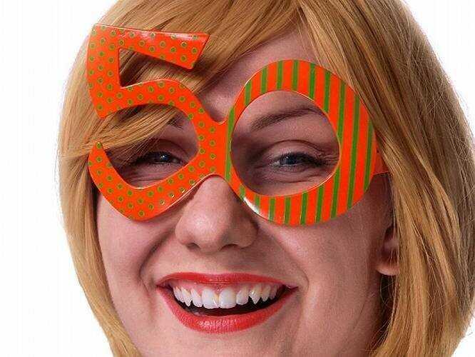 Okulary Party 50 - 1 szt.