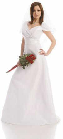 FSS545 Suknie Ślubne Suknia BIAŁY
