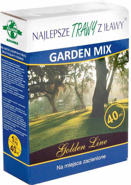 Trawa Najlepsze Trawy z Iławy Garden Mix 1 kg