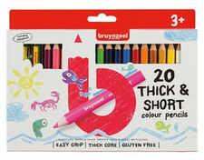 Bruynzeel Kredki ołówkowe grube 20 zestaw