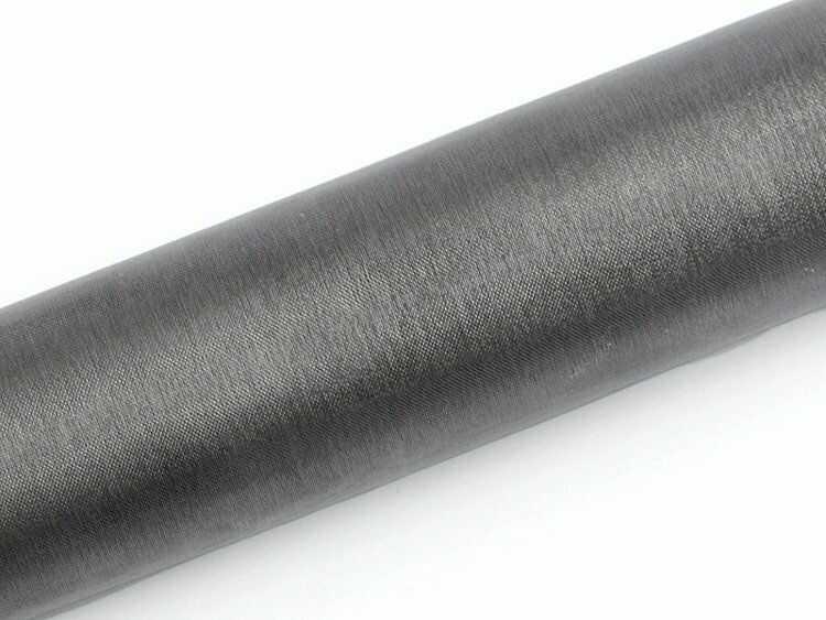 Organza szara 16cm x 9m 1 rolka ORP16-091