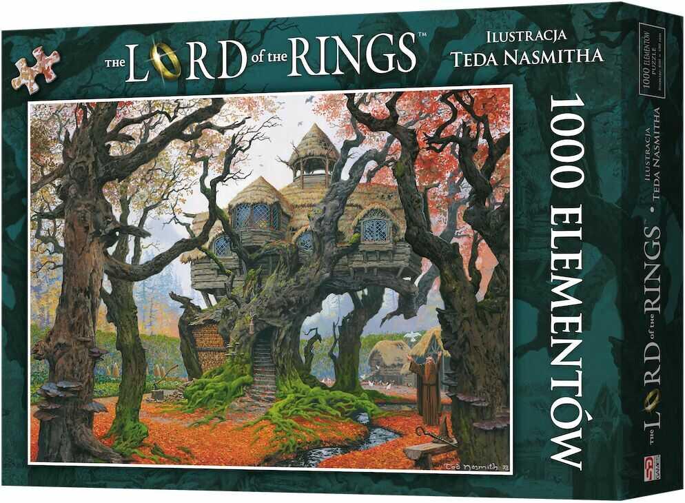 Puzzle 1000 Władca Pierścieni: Rhosgobel