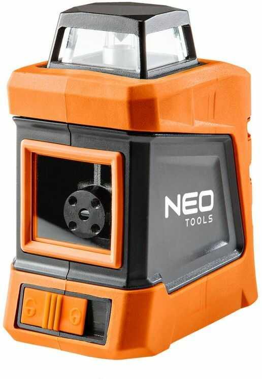Laser płaszczyznowy 30m, 360  w poziomie, z etui i statywem 1.5m 75-102