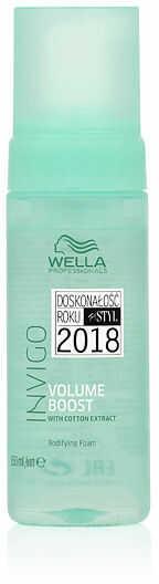 Wella Invigo Volume Boost Bodifying Foam Pianka dodająca włosom objętości 150 ml