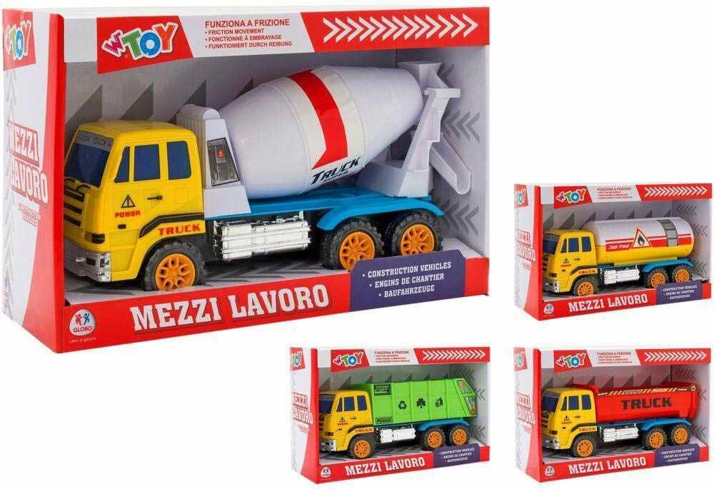 Globo Samochód ciężarowy, wielokolorowy, GLO1308