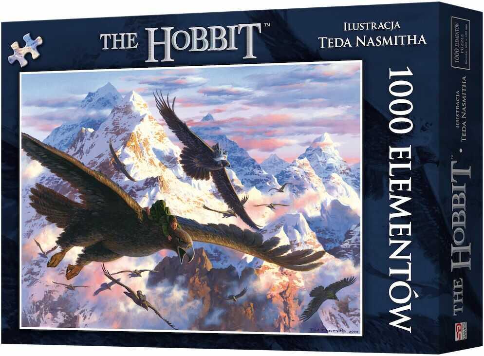 Puzzle 1000 Hobbit: Bilbo i orły