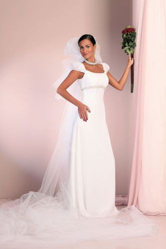 FSS557 Suknie Ślubne Suknia BIAŁY