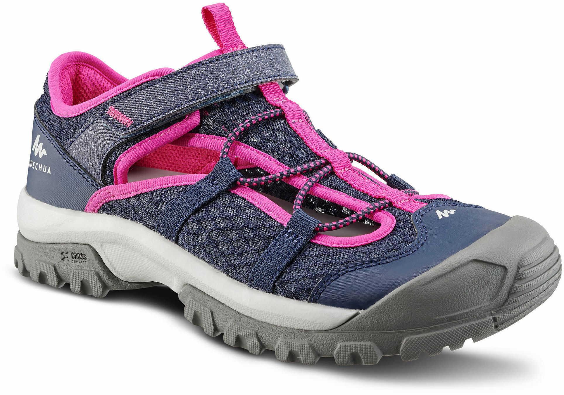 Sandały turystyczne dla dzieci Quechua MH150 TW