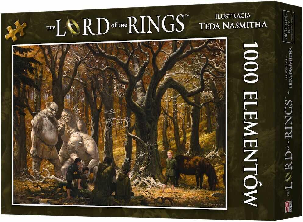 Puzzle 1000 Władca Pierścieni: Pieśń wśród Trollowych Wzgórz