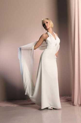 FSS558 Suknie Ślubne Suknia EKRI