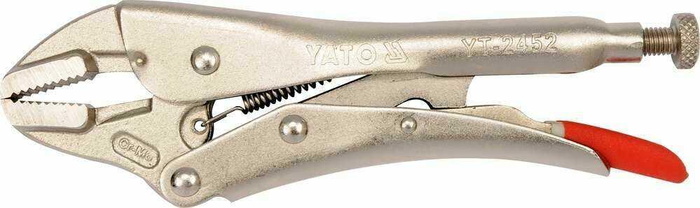 Szczypce zaciskowe typu morse''a 180 mm Yato YT-2452 - ZYSKAJ RABAT 30 ZŁ