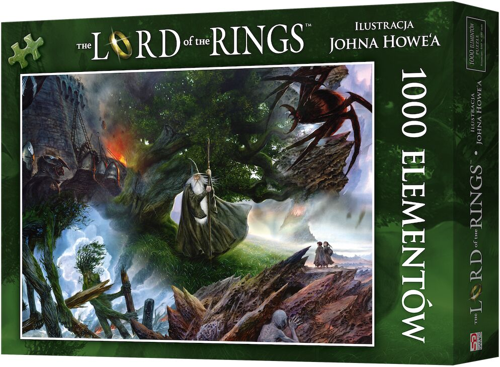 Puzzle 1000 Władca Pierścieni: Wyprawa do Mordoru