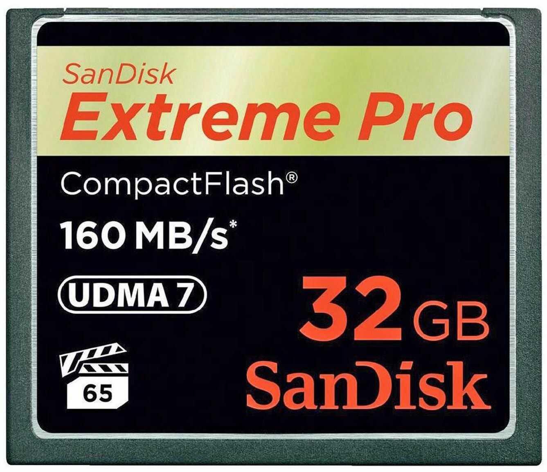 Karta pamięci CF - 32GB 160MB/s SanDisk Extreme PRO