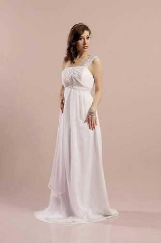 FSS566 Suknie Ślubne Suknia BIAŁY