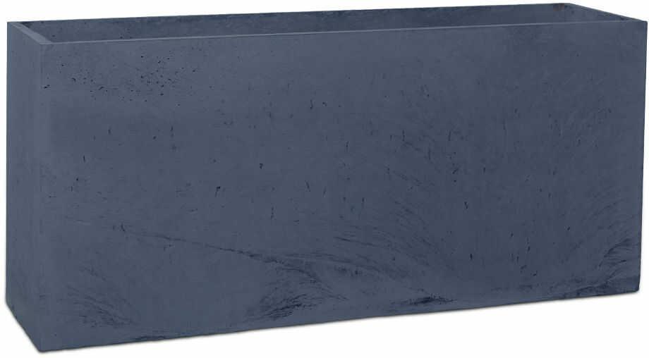 Donica betonowa LINEA L 90x22x40 grafitowy