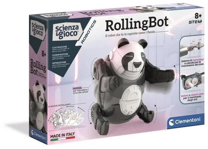 Clementoni - Robot Panda RollingBot 50684