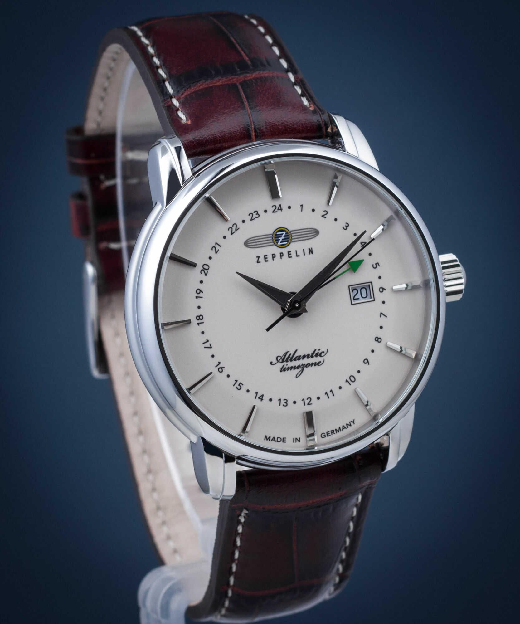Zegarek męski Zeppelin Atlantic Timezone