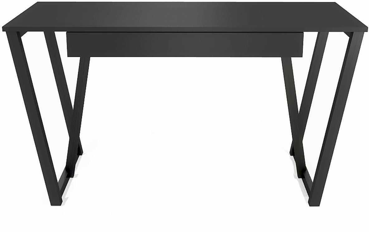 Czarne minimalistyczne biurko Molly 3X