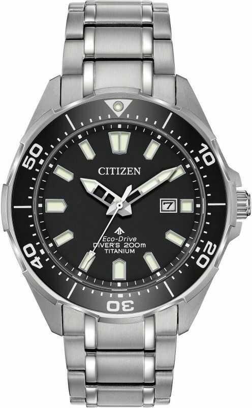 Zegarek męski Citizen Titanium Promaster Diver BN0200-56E