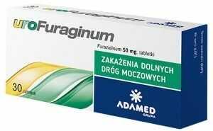 Urofuraginum 50mg 30 tabl G